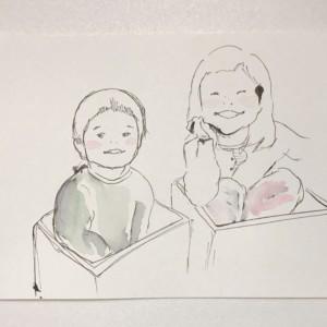 『我が子を描こう』上手い絵よりいい絵を目指すスケッチ会に参加して