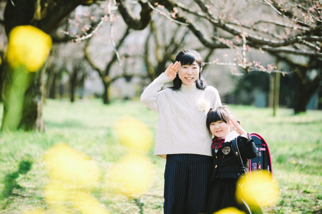 入学ランドセル菜の花