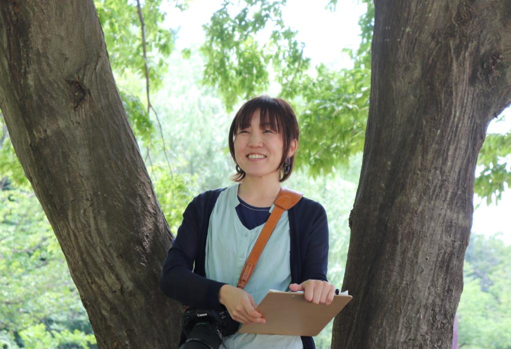 ママ向け初級カメラ講座講義中の私 生徒さん撮影