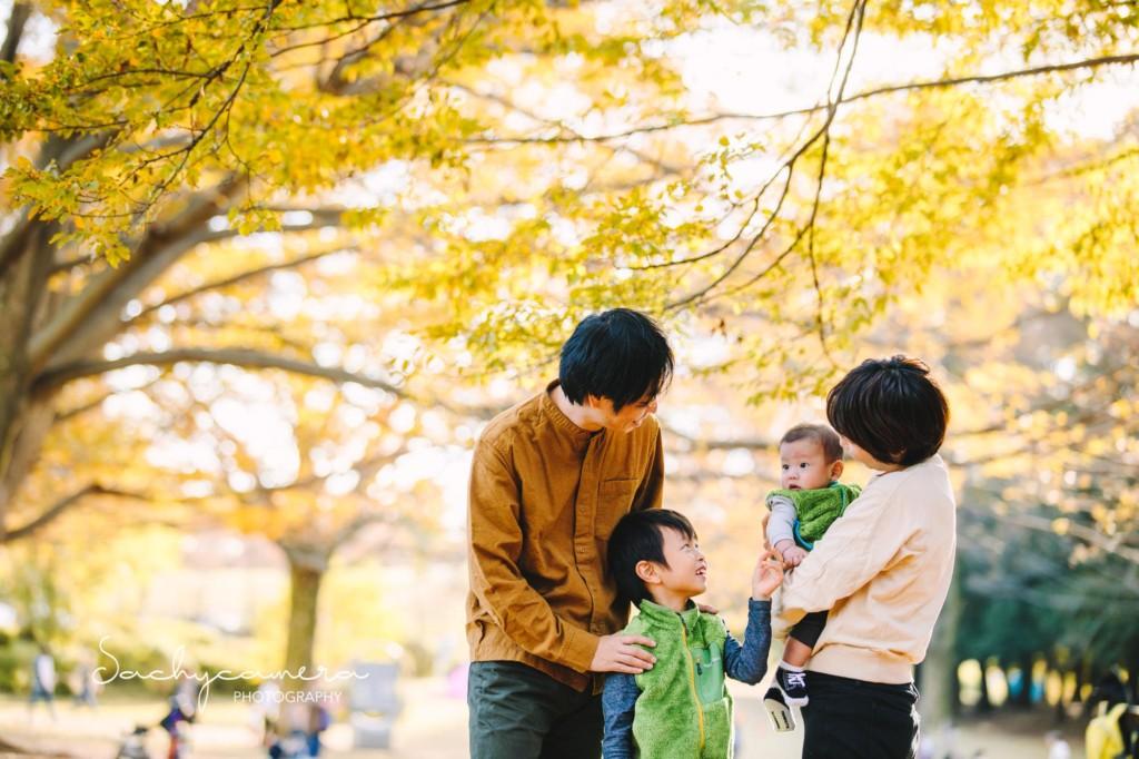 秋の撮影会の写真