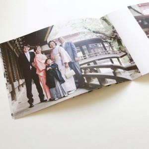 サチカメ!の出張撮影には「ミニフォトブック3冊セット」が付いています