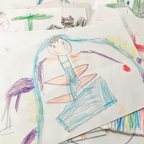 子供が描いたイラスト
