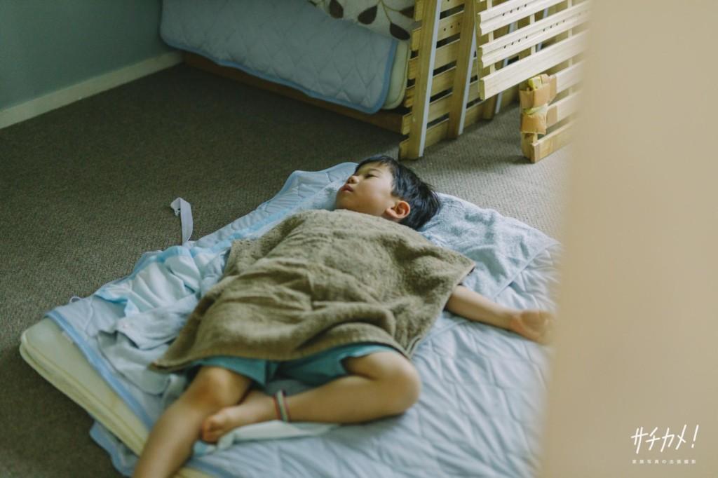 4歳男の子昼寝