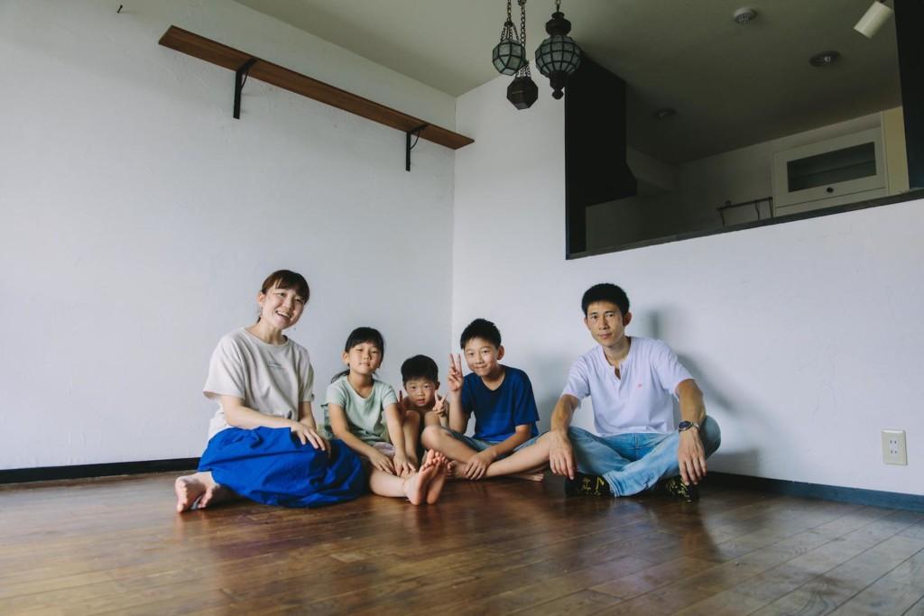 東京最終日の家族写真