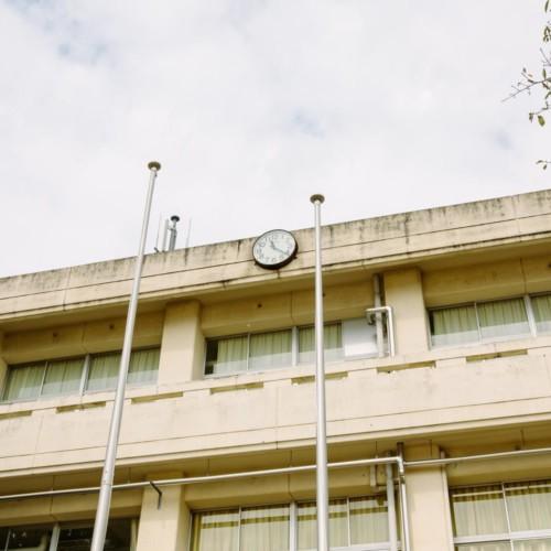 校舎の時計
