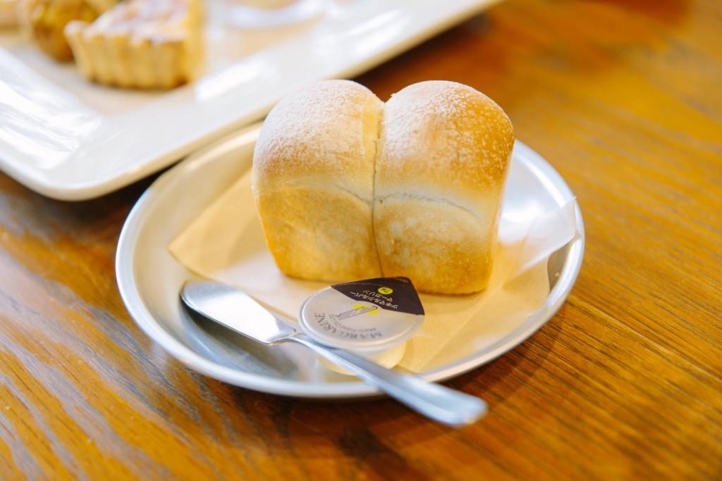 ポタージュのパン